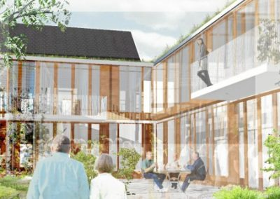 Hornbæk Plejehjem, Hornbæk