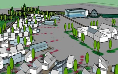 Permatopia: Bæredygtige rækkehuse i Karise